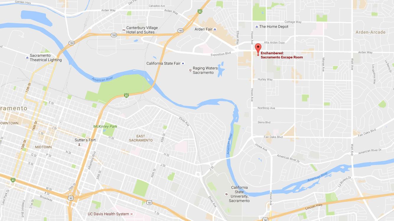 Our Location Sacramento Escape Room