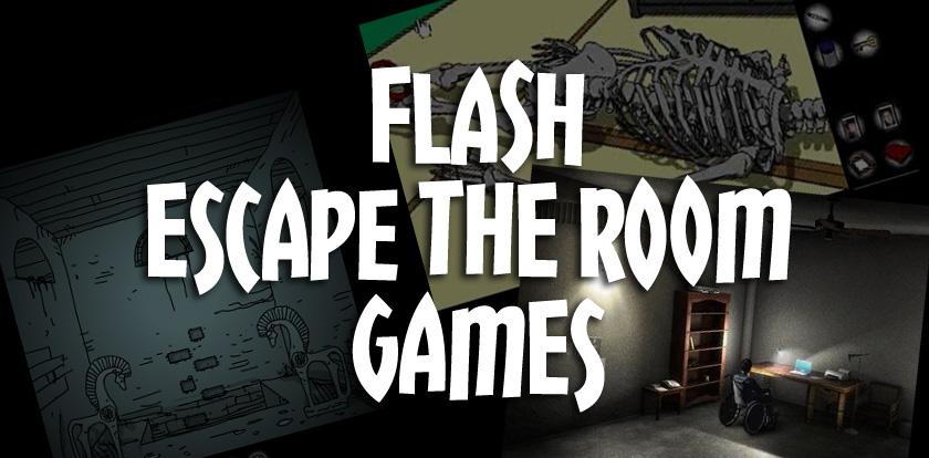 escape room flash game