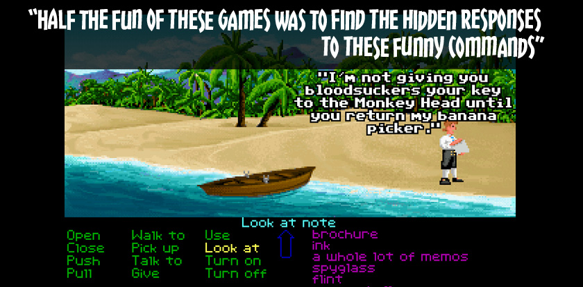 Monkey Island Adventure game